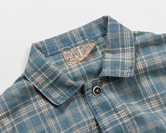 """Plaid is a staple, and helps us play out our """"my-so-called-life""""/Jordan Catalano fantasies. Indian Fashion Dresses, Fashion Outfits, Stylish Men, Men Casual, Blue Flannel Shirt, Check Shirt Man, Mens Clothing Styles, Man Stuff, How To Look Better"""