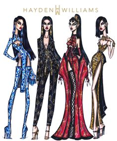 Hayden Williams Haute Couture SS17 collection inspired by Chinese New Year