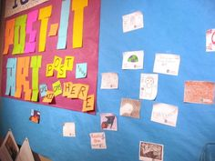 Post-It Note Art Show