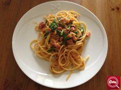 #Spaghetti Casual di stefano.manelfi. Scopri la #ricetta su www.acook.it. Segui i gustosi piatti dei #cuochi di acook e vota i tuoi preferiti. #BuonAPPetito