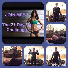Loving my 21-Day Fix challenge group. Today Upper Fix completed and it felt awesome.