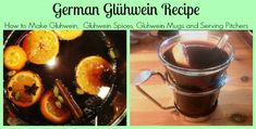 traditional german gluhwein recipe