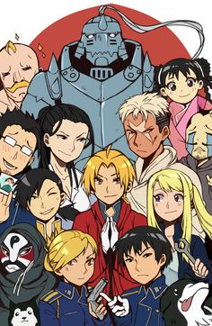 FMA Brotherhood  Credits to the artist