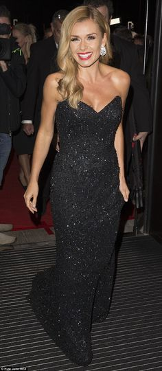 Riding solo: Katherine Jenkins arrived at the BAFTA Cymru Awards without her new husband A. Katherine Jenkins, Evening Dresses, Prom Dresses, Dressed To The Nines, Nice Dresses, Awesome Dresses, Perfect Woman, Dress Me Up, Strapless Dress Formal