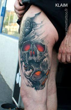 O+incrível+trabalho+do+tatuador+francês+Klaim+do+Street+Tattoo++|+Tinta+na+Pele