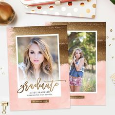 Graduation Announcement Card Template Ag  Announcement Cards