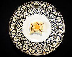 https://flic.kr/p/UBcup3 | Huevos nube. koketo | Los huevos nube son una nueva elaboración o evolución. Se trata de un merengue horneado acompañada por baicon o queso y con la yema líquida. koketo.es/huevos-nube/ @chefkoketo