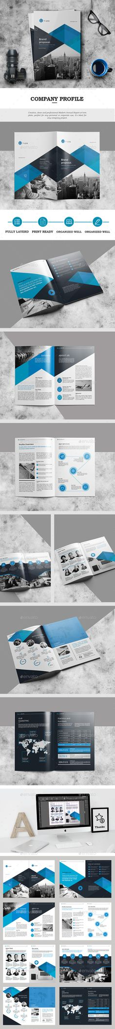 #The Brochure - #Catalogs #Brochures Download here: https://graphicriver.net/item/the-brochure/18840324?ref=alena994