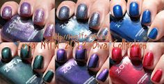 Confessions of a Sarcastic Mom: The one with Zoya NYFW 2012 Diva Collection!