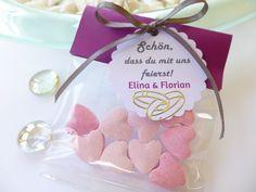 Gastgeschenk Hochzeit von Geschenkefarm auf DaWanda.com