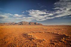 Fairy Circle in Namib Desert. Nice travel photos taken in Namibia, Africa.