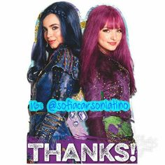 Descendants 2 Thank You Notes feature Evie and Mal on the front. These Disney Descendants postcard-style thank you cards include envelopes and sticker seals for 8 guests. Descendants Wicked World, Disney Channel Descendants, Descendants Cast, Halloween Costume Shop, Halloween Costumes For Kids, Descendants Pictures, Disney Store Uk, Mal And Evie, Disney Princess Art