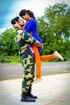 Image may contain: 1 person, standing, shoes and outdoor Army Couple Pictures, Military Couple Photography, Indian Army Special Forces, Indian Army Quotes, Indian Army Wallpapers, Army Pics, Military Girlfriend, Military Deployment, Military Looks