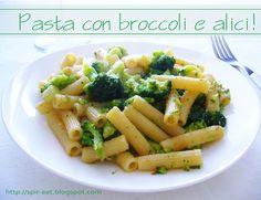 spirEat: Pasta con broccoli e alici