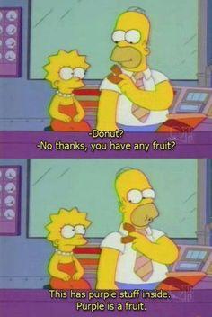 Lisa and Homer Simpson