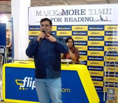 Ashok Banker at our World Book Fair stall