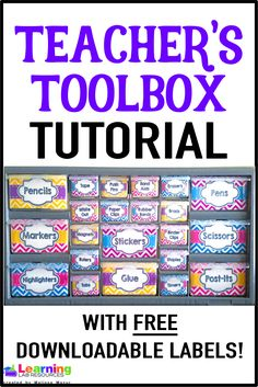 1000 Ideas About Teacher Toolbox Labels On Pinterest
