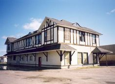This is the station restoration project at Sioux Lookout, ON.  This station plan is a lot like ours in Melville, SK