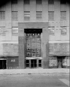#ArtDeco | Front entrance, Durham Life Insurance Building, Raleigh, North Carolina. Designed by Northup & O'Brien, 1941.