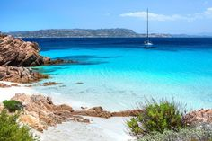 For turquoise lagoons and the best beaches in Sardinia, head to the islands of La Maddalena, off the Costa Smeralda