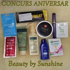Concurs aniversar: 3 ani de blogging! ~ Beauty and Fashion by Sunshine