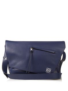 Loewe Anton leather messenger bag