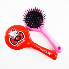 Hello Kitty Hair Care Massage Combs Flat Comb Brush Pin Reduce Hair Loss Hair Accessories Health Care Tools-HC003