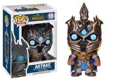 Blizzard Figurines: Warcraft, Starcraft & Diablo Funko Pop Collectibles - Arthas Funko Pop