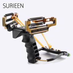 62.87$  Buy now - http://alim4w.shopchina.info/go.php?t=32801015179 - SURIEEN Metal Sling Shot Shots Outdoor Slingshots Strong Powerful Catapult +Rubber Bands +Wrench+Steel Balls Hunting Estilingue  #magazineonlinebeautiful