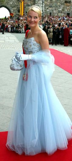 Crown Princess Mette-Marit of Norway; wedding of Princess Märtha Louise of Norway and mr. Ari Behn, May 24th 2002