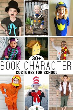 Last minute book character costumes