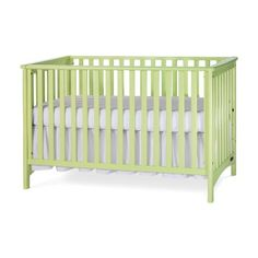 Amazon.com : Childcraft London Euro Crib-Lime : Baby