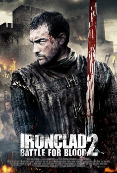 """Ironclad Battle For Blood 2 Language : English  Genre : Action , Adventure  Duration : 1h 48mn  Size : 1.36 GB  Quality : BRRiP  Release Year : 2014  Submit by : Marie  Description : A survivor of the Great Siege of Rochester Castle fights to save his clan from from Celtic raiders. A sequel to the 2011 film, """"Ironclad."""""""