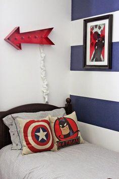 Superhéroes Decor, más inspiración | Habitaciones Tematicas