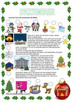 Texte - Weihnachten - Dezember