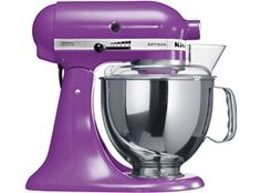 Purple Food Mixer