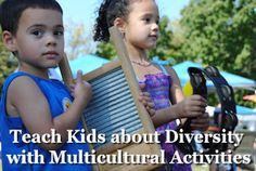 Teach Kids about Diversity with Multicultural Activities - includes children with Special Needs