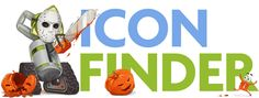 icon finder's logo for halween .. too freakin' epic