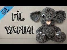 Amigurumi Örgü Bebek Tavşan Çıngırak Yapımı 2.Bölüm - YouTube
