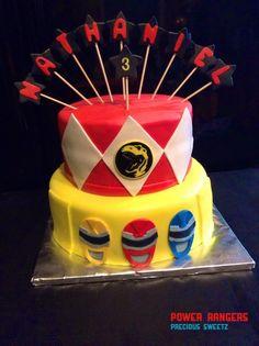 ... | Ninja Turtle Cakes, Power Ranger Party and Power Ranger Birthday