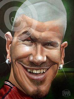 David Beckham by Russ Cook