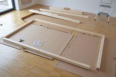 Kinderbett selber bauen: XXL-Hausbett Bauanleitung