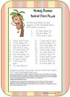 Math Coach's Corner: Place Value and Addition, free hundred chart activity