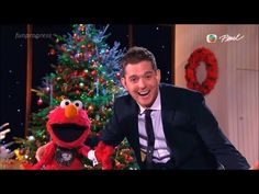 ▶ All I Want for Christmas Is My Two Front Teeth - Elmo & Michael Bublé [lyrics](live 2012) - YouTube