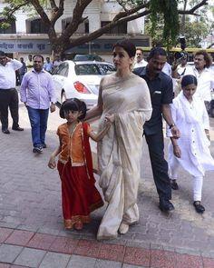 Aishwarya Rai Bachchan and daughter Aradhya Bachchan at the prayer meet of Krishnaraj Rai. @filmywave  #AishwaryaRaiBachchan #AishwaryaRai #AradhyaBachchan #Bachchans #KrishnarajRai #prayermeet #celebrity #bollywood #bollywoodactress #bollywoodactor #actor #actress #star #fashion #fashionista #bollywoodfashion #bollywoodstyle #glamorous #hot #sexy #love #beauty #instalike #instacomment #filmywave Bollywood Actors, Bollywood Fashion, Bollywood Movie Trailer, Prayer Meeting, Celebrity Magazines, Aishwarya Rai Bachchan, Star Fashion, Balloons, Daughter