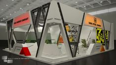 Saba Steel by Farid Soleimani Exhibition Stall, Exhibition Booth Design, Exhibition Display, Exhibition Ideas, Exhibit Design, Trade Show Booth Design, Display Design, Exibition Design, Stand Feria