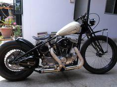 Ironhead bobber by Upbike Customshop