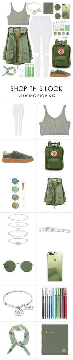 """I'm drifting through the halls with the sunrise. Climbing up the walls for that flashing light."" by povring ❤ liked on Polyvore featuring Topshop, No Name, Fjällräven, Terre Mère, Accessorize, Kendra Scott, The Row, Casetify, Chrysalis and Christian Dior"