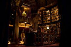 Dumbledore's Office by JLovely (DisRunner), via Flickr