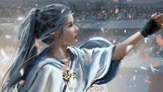 Скачать обои lips, long hair, people, looking away, Wlop, fantasy art, glove, digital art, elf, artwork, cape, mouth, necklace, fantasy, mole, princess, раздел фантастика в разрешении 1920x1081
